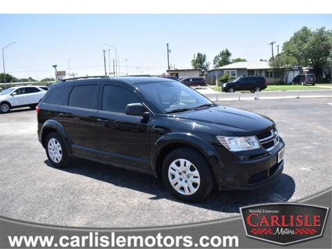 2016 Dodge Journey for sale at Carlisle Motors in Lubbock TX