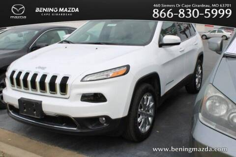 2017 Jeep Cherokee for sale at Bening Mazda in Cape Girardeau MO
