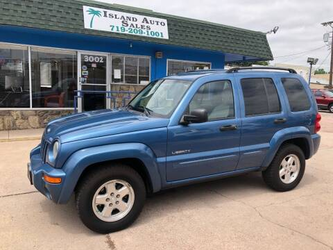 2004 Jeep Liberty for sale at Island Auto Sales in Colorado Springs CO