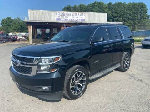 2015 Chevrolet Tahoe for sale at Greenbrier Auto Sales in Greenbrier AR