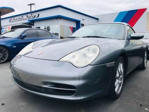 2002 Porsche 911 for sale at Bozzuto Motors in San Diego CA