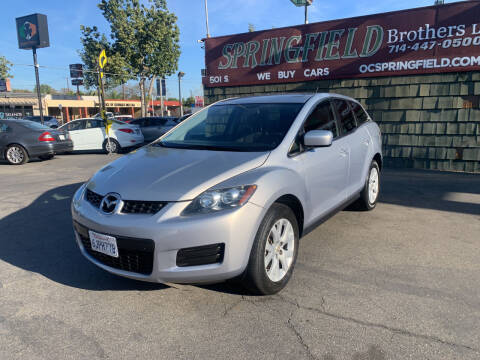 2009 Mazda CX-7 for sale at SPRINGFIELD BROTHERS LLC in Fullerton CA