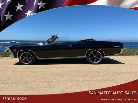 1966 Chevrolet Chevelle for sale at San Mateo Auto Sales in San Mateo CA