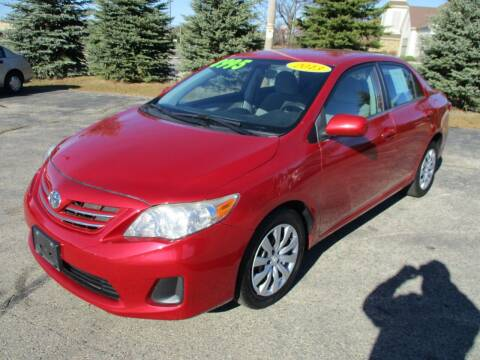 2013 Toyota Corolla for sale at Richfield Car Co in Hubertus WI