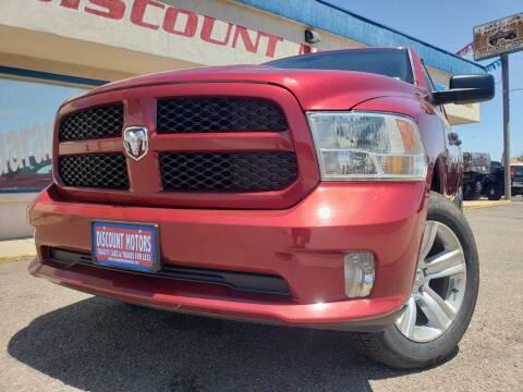 2014 RAM Ram Pickup 1500 for sale at Discount Motors in Pueblo CO