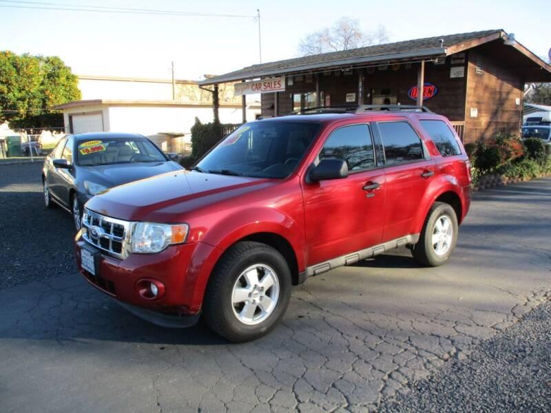2012 Ford Escape for sale at Manzanita Car Sales in Gridley CA