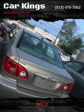 2005 Toyota Corolla for sale at Car Kings in Cincinnati OH