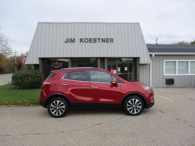 2017 Buick Encore for sale at JIM KOESTNER INC in Plainwell MI