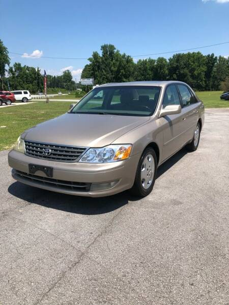 2004 Toyota Avalon for sale at IH Auto Sales in Jacksonville NC
