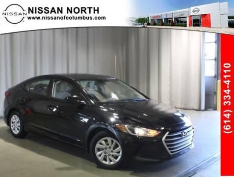 2018 Hyundai Elantra for sale at Auto Center of Columbus in Columbus OH