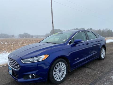 2014 Ford Fusion Hybrid for sale at Sand's Auto Sales in Cambridge MN
