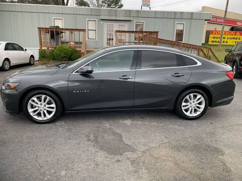 2017 Chevrolet Malibu for sale at BRYANT AUTO SALES in Bryant AR
