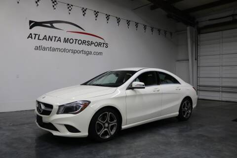 2014 Mercedes-Benz CLA for sale at Atlanta Motorsports in Roswell GA