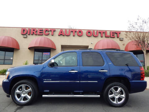 2012 Chevrolet Tahoe for sale at Direct Auto Outlet LLC in Fair Oaks CA