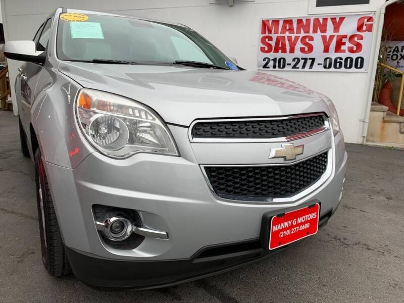2012 Chevrolet Equinox for sale at Manny G Motors in San Antonio TX