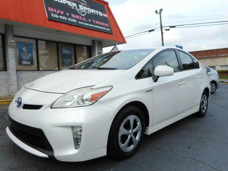 2012 Toyota Prius for sale at Super Sports & Imports in Jonesville NC