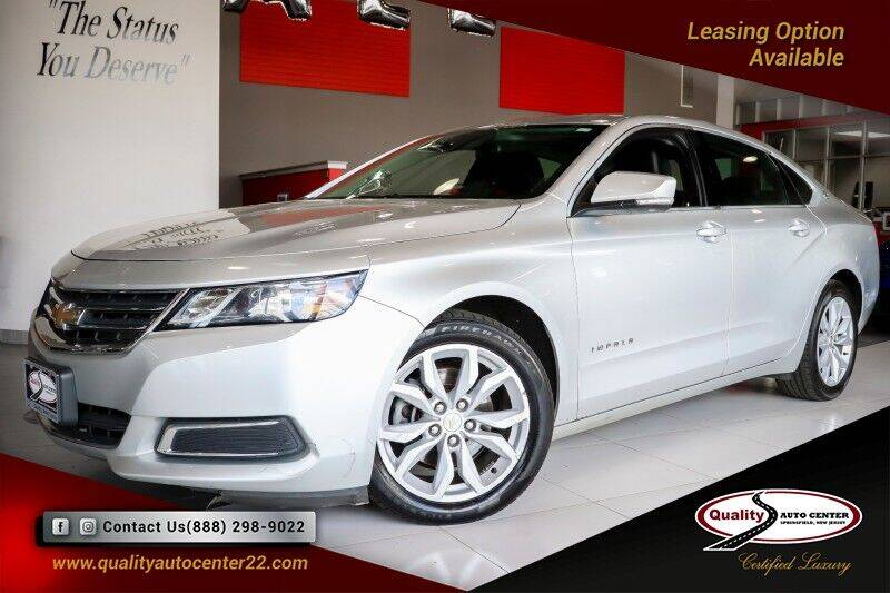 2016 Chevrolet Impala for sale at Quality Auto Center of Springfield in Springfield NJ