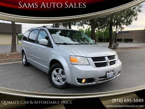 2010 Dodge Grand Caravan for sale at Sams Auto Sales in North Highlands CA
