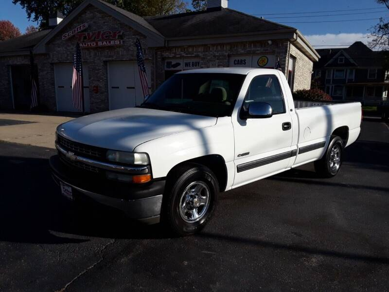 2002 Chevrolet Silverado 1500 for sale at Scotts Tyler Auto Sales in Wilmington IL