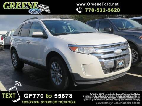 2013 Ford Edge for sale at NMI in Atlanta GA