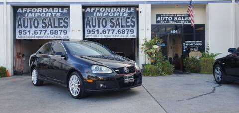 2006 Volkswagen Jetta for sale at Affordable Imports Auto Sales in Murrieta CA