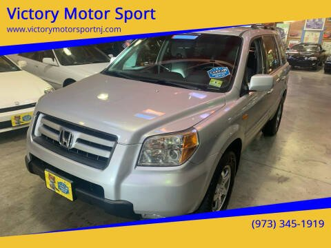 2006 Honda Pilot for sale at Victory Motor Sport in Paterson NJ