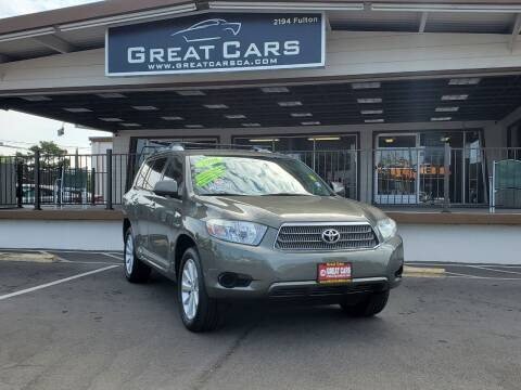 2008 Toyota Highlander Hybrid for sale at Great Cars in Sacramento CA