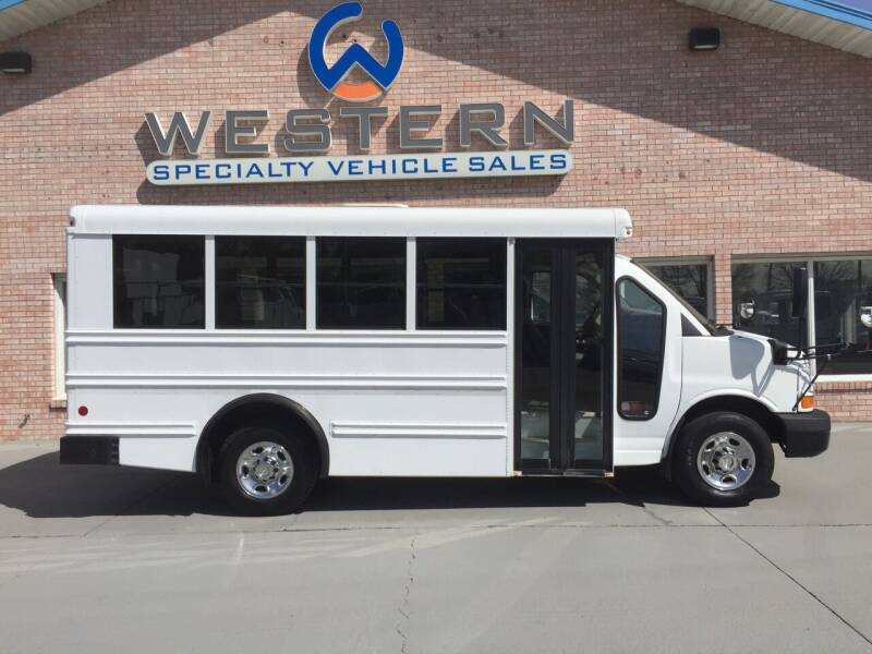 2010 Chevrolet Express Shuttle for sale at Western Specialty Vehicle Sales in Braidwood IL