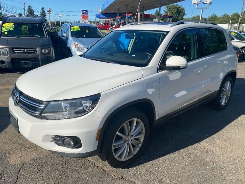 2012 Volkswagen Tiguan for sale at East Windsor Auto in East Windsor CT