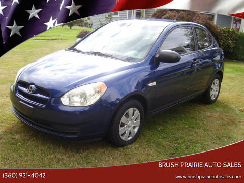 2007 Hyundai Accent for sale at Brush Prairie Auto Sales in Battle Ground WA