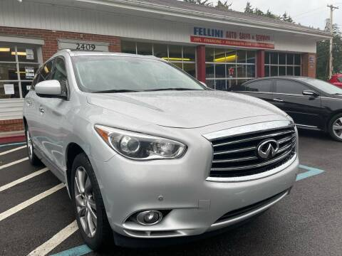 2013 Infiniti JX35 for sale at Fellini Auto Sales & Service LLC in Pittsburgh PA