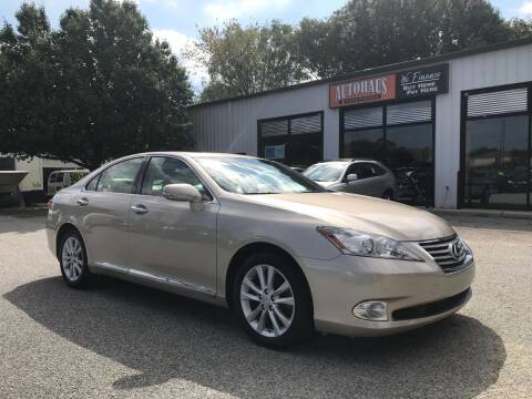 2010 Lexus ES 350 for sale at Autohaus of Greensboro in Greensboro NC