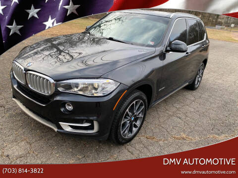 2018 BMW X5 for sale at DMV Automotive in Falls Church VA