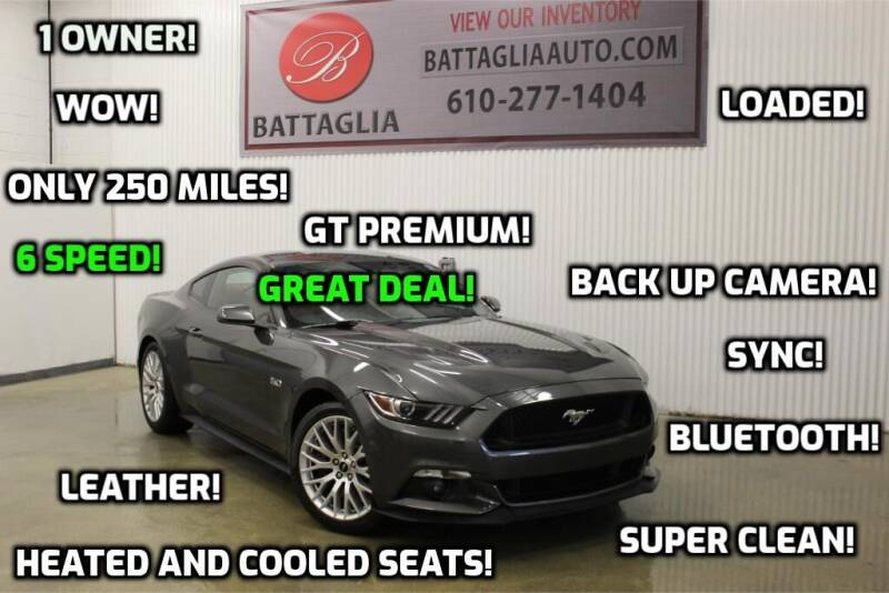 2017 Ford Mustang for sale at Battaglia Auto Sales in Plymouth Meeting PA
