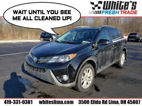 2013 Toyota RAV4 for sale at White's Honda Toyota of Lima in Lima OH