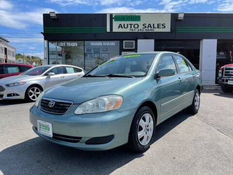 2006 Toyota Corolla for sale at Wakefield Auto Sales of Main Street Inc. in Wakefield MA