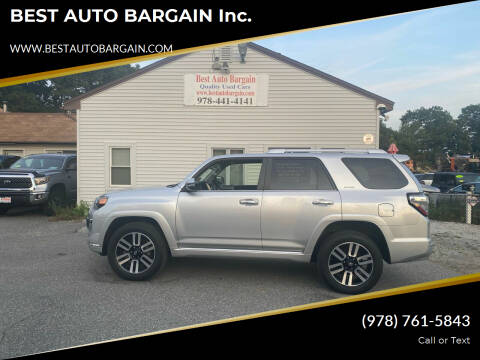 2015 Toyota 4Runner for sale at BEST AUTO BARGAIN inc. in Lowell MA