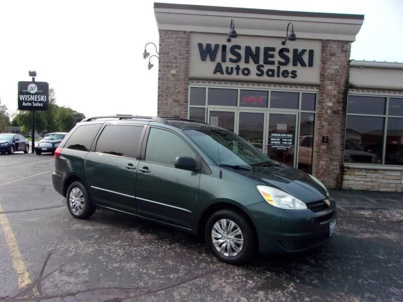 2004 Toyota Sienna for sale at Wisneski Auto Sales, Inc. in Green Bay WI