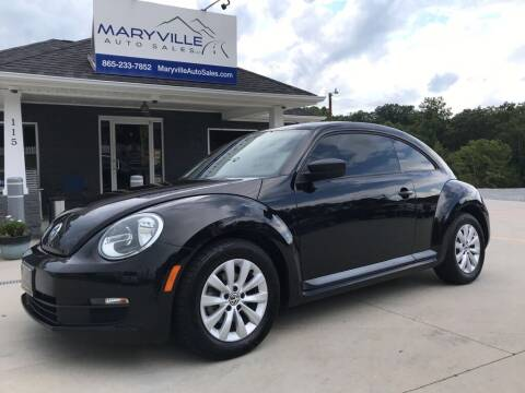 2015 Volkswagen Beetle for sale at Maryville Auto Sales in Maryville TN