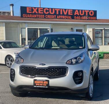 2018 Kia Sportage for sale at Executive Auto in Winchester VA