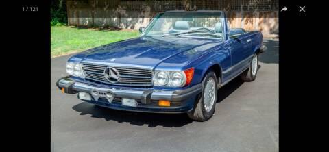 1989 Mercedes-Benz 560-Class for sale at Abrams Automotive Inc in Cincinnati OH