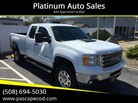 2013 GMC Sierra 2500HD for sale at Platinum Auto Sales in South Yarmouth MA