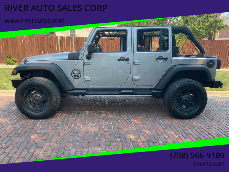 2014 Jeep Wrangler Unlimited for sale at RIVER AUTO SALES CORP in Maywood IL