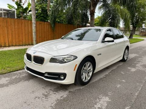 2016 BMW 5 Series for sale at Venmotors Hollywood in Hollywood FL