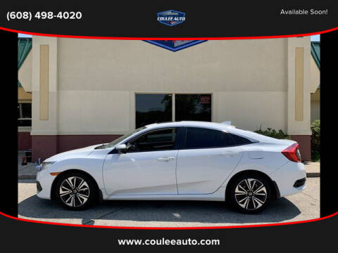 2016 Honda Civic for sale at Coulee Auto in La Crosse WI