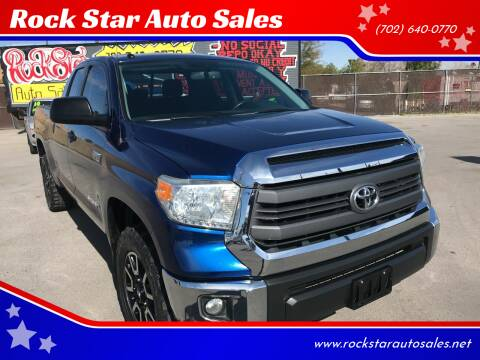 2014 Toyota Tundra for sale at Rock Star Auto Sales in Las Vegas NV