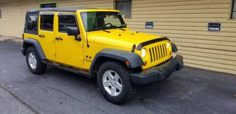 2008 Jeep Wrangler Unlimited for sale at Cars Trend LLC in Harrisburg PA