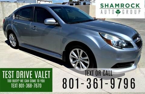 2013 Subaru Legacy for sale at Shamrock Group LLC #1 in Pleasant Grove UT