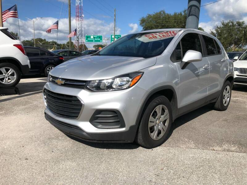 2017 Chevrolet Trax for sale at Prime Auto Solutions in Orlando FL