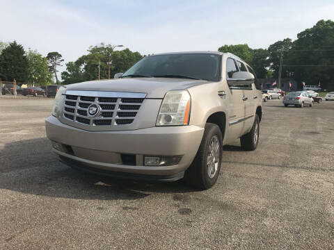 2007 Cadillac Escalade for sale at Certified Motors LLC in Mableton GA